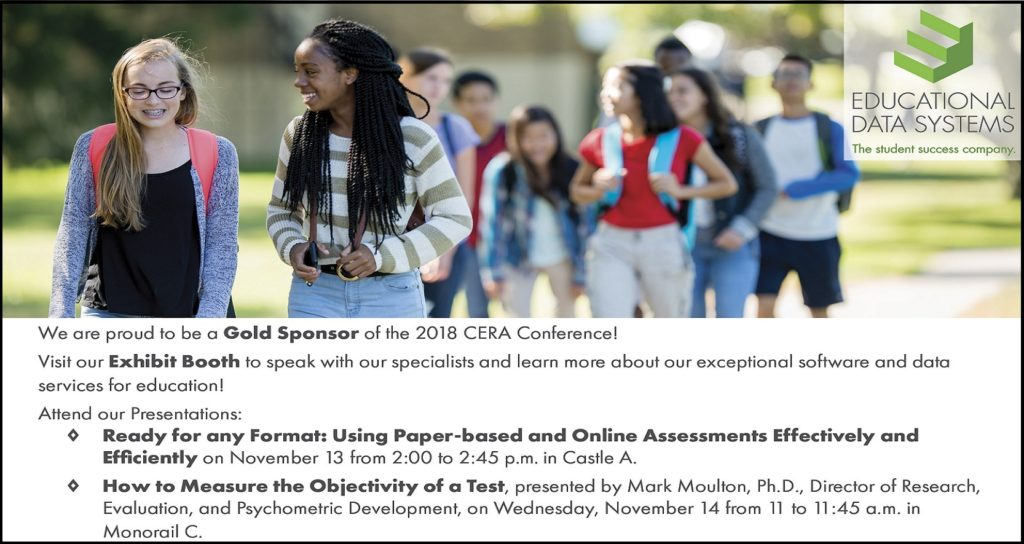 Join Us at the California Educational Research Association (CERA) Conference