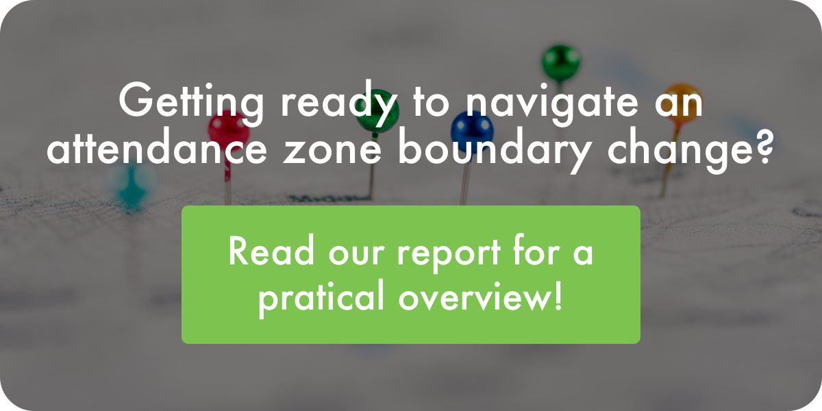 Eddata Attendance Zone Boundary Change Report
