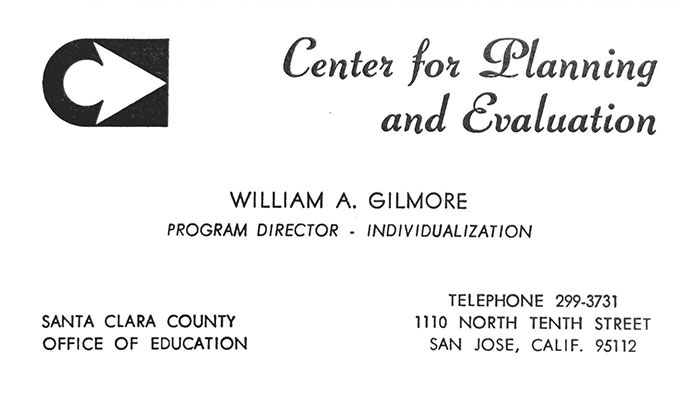 Center for Planning and Evaluation Business Card