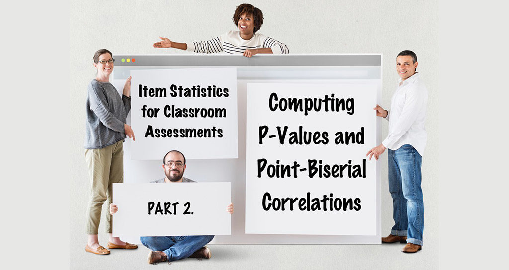 Part 2: Computing P-Values and Point-Biserial Correlations