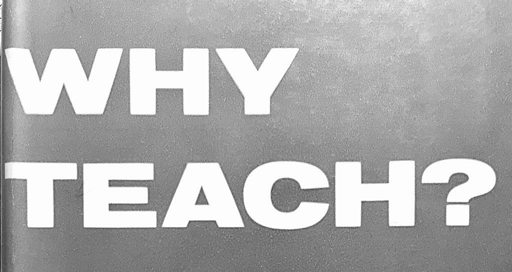 Why Teach? Cover Image